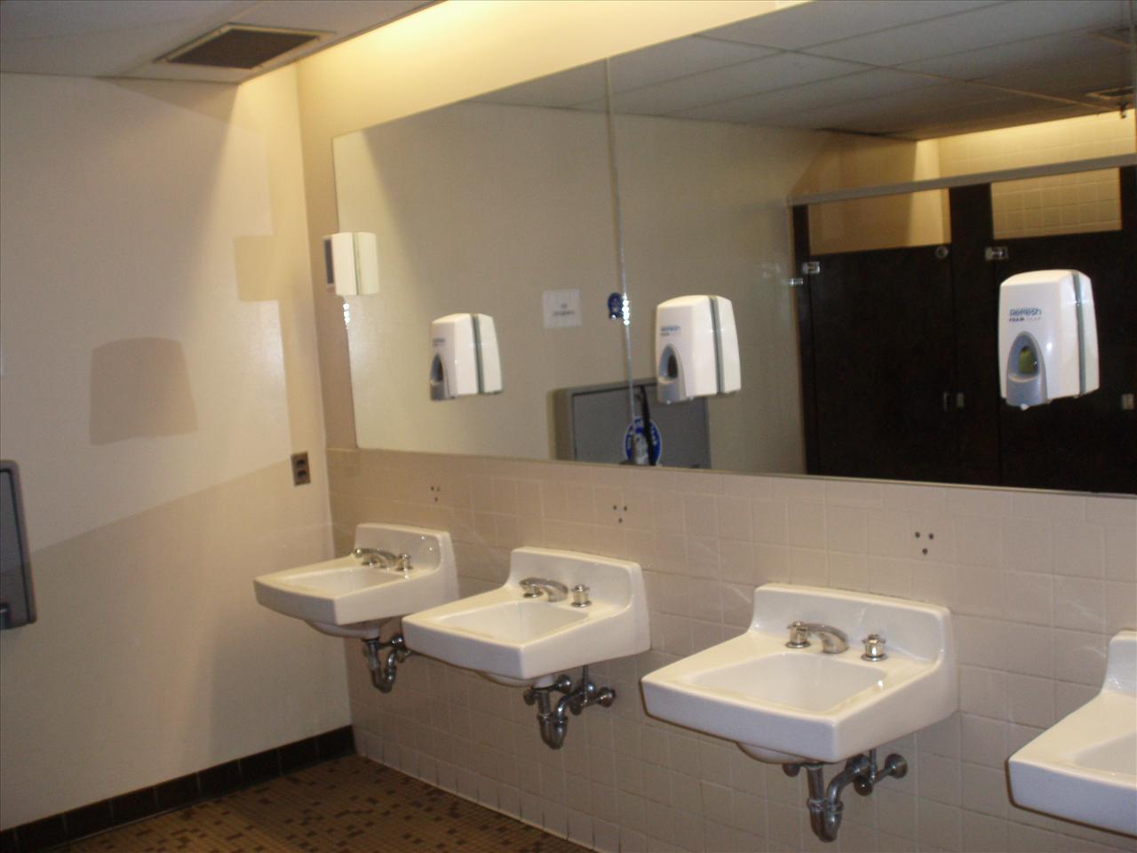 C r my comfort room makatanghel for Public bathroom sink